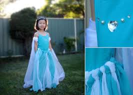 view in gallery diy frozen dress wonderfuldiy wonderful diy no sewing frozen elsas dress