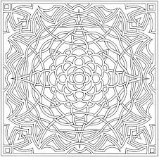 Free Printable Abstract Coloring Pages For Kids Coloring Therapy