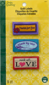 Quilt Labels-3244 | Dritz Quilting, Sewing & Crafting Supplies &  Adamdwight.com
