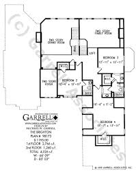 brighton house plan house plans by garrell associates, inc 1 5 Story House Plans With Loft 1 5 Story House Plans With Loft #49 1.5 Story House Plans with 3 Car Garage