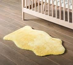 lambskin rug baby sheepskin nursery organic