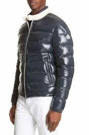 Moncler Aubert Giubbotto Two-Tone Down Jacket