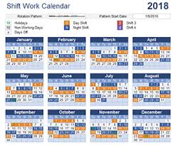 shift work schedules work schedule template for excel