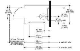 dimensions of standard toilet. lovely within bathroom standard stall size dimensions of toilet