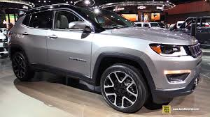 novo jeep 2018. simple jeep 2018 jeep compass limited  exterior and interior walkaround 2017 detroit  auto show youtube throughout novo jeep