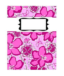 Printable Binder Cover Templates Template Free Book Folding Lilly