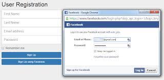 Facebook Login Sign In Simple Login And Sign Up Using Facebook Javascript Sdk My Codde