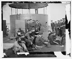 「On January 30, 1862, the first American ironclad warship, the USS Monitor, is launched.」の画像検索結果