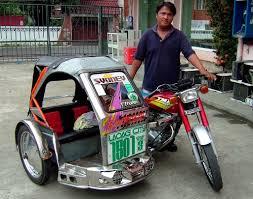 Pedicab Sidecar Design Filipino Icon Tricycle And Pedicab Ffe Magazine