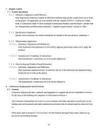 Sample Statement Of Work Jvs Building Services