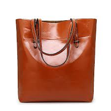 luxury genuine leather designer handbags for women famous brands fashion las tote bags for work large