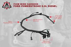 aa ignition products Ford 6 0 Parts the term ford, powerstroke, and other vehicle models are used only to identify the vehicles this wire harness fits