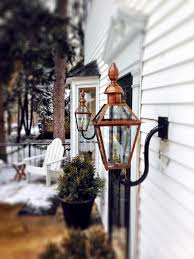 gas outdoor lighting furniture fantastic bevolo hand crafting copper electric and gas