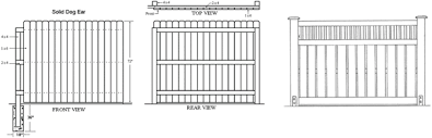 Fence Design Software Fence Designs Wood Fence Designs
