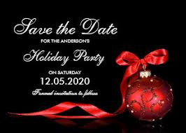 Christmas Party Save The Date Templates Christmas Save The Date Cards Zazzle Uk