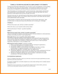 Job Accomplishments List Accomplishments For Resume Nguonhangthoitrang Net