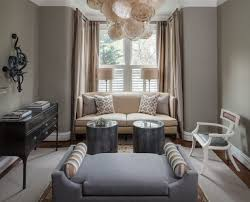 interior awesome living room with grey color combination