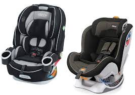 the size of each infant car seat the distinctive features of each model the installation system of each model the number of recline positions