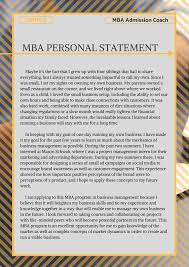Pin By Mba Admissions Samples On Mba Personal Statement Sample
