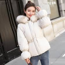 brieuces winter jacket women 2018 warm winter coat women fur hooded down jacket women s parkas slim female outerwear women s warm jacket women s winter coat