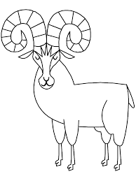 Small Picture Bighorn Sheep Animals Coloring Pages Coloring Book