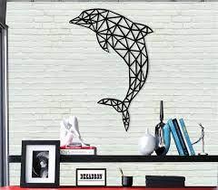 dolphin metal wall decor animals wall art