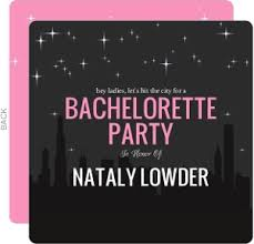 bachelorette party invite bachelorette party invitations