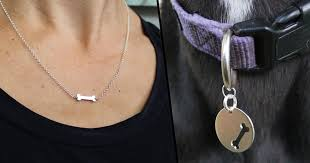 you can now matching best friends necklaces for you and your dog