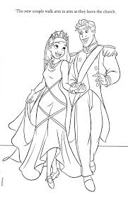 Small Picture Tiana and Naveen Coloring Pages colouring pages Pinterest