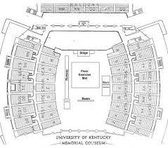 Faithful Memorial Coliseum Kentucky Seating Chart 2019