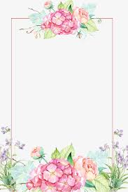 Floral Borders For Word Flowers Borders Png Transparent Flowers Borders Png Images