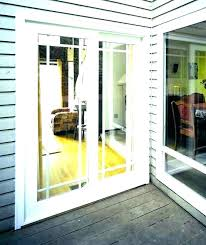 broken glass door sliding replacing with french doors cost to replace
