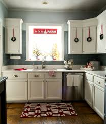 decorating ideas for kitchen. Kitchen Decorating Ideas For Christmas In Red And White D