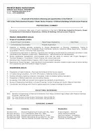 Engineering Skills Resume Civil Engineering Skills Resume ...