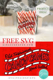 Free candycane icons in wide variety of styles like line, solid, flat, colored outline, hand drawn and many more such styles. Old Fashioned Candy Canes Svg Cut File Gina C Creates