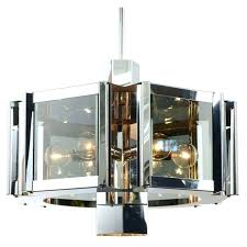 contemporary chandelier by circa for fredrick ramond lighting vintage collection six light hanging in silver