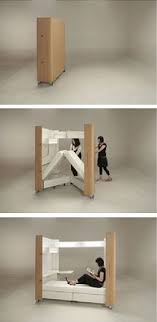 smart furniture for small spaces. Japanese Designers Atelier OPA Created A Unique Set Of Products Which Are Perfect For Small Spaces This Foldaway Furniture Includes Mobile Home Smart P