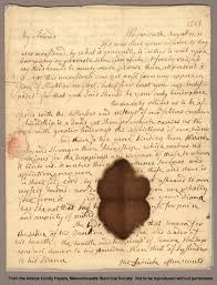 best john and abigail adams images john adams adams family papers letter from abigail smith to john adams 11 1763
