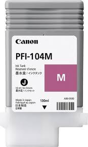 <b>Картридж Canon PFI-104M</b> (<b>3631B001</b>), пурпурный, для ...