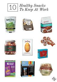 Top 10 Healthy Vending Machine Snacks Mesmerizing 48 Healthy Snacks To Keep On Hand At Work FOOD DRINK RECIPES