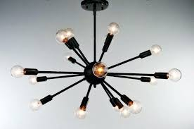 18 spoke sputnik chandelier stilnovo 18 light starburst 18 light starburst chandelier