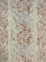 67 best French quilts and fabric images on Pinterest | French ... & Antique French Quilt BEAUTIFUL pale ground floral 1870 Adamdwight.com