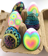 Easter Egg Designs Ideas Fun And Kid Friendly Easter Egg Decorating Ideas Ooly