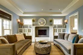 cabinets next to fireplace. Built In Cabinets Next To Fireplace Living Room Craftsman With Window Glass Design Wall Sconce Mirror Intended
