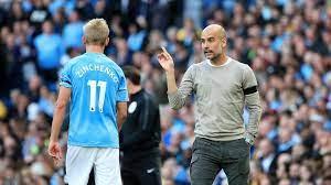 Vrouw Zinchenko woedend op Manchester City-coach Guardiola
