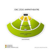 Okc Zoo Amp Seating Chart Okc Zoo Amphitheatre 2019 Seating Chart