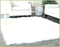 faux fur rug awesome bedroom wonderful faux fur area rug home throughout white sheepskin designs 7 faux fur rug thick white