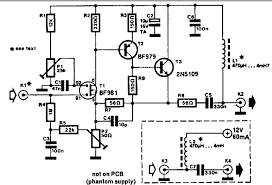 wideband active antenna circuit wideand active antenna circuit schematic