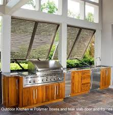 Outdoor Kitchens Tropical Patio