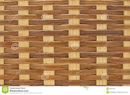 Close up of rattan wicker basket